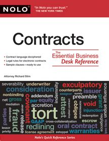 reference book for net in commerce contracts the essential business desk reference