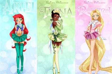 sailor moon list 21 iconic disney heroines as flawless sailor moon characters