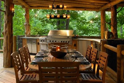 outdoor dining areas 12 warm and cozy rustic outdoor ideas diy home life