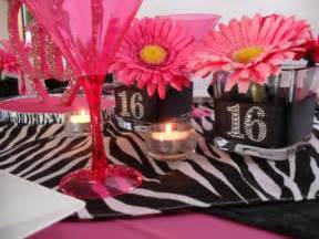 Sweet 16 party decoration ideas