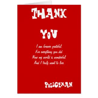 printable thank you card for police officer thank you doctor cards photocards invitations more