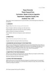 Dissertation Project Plan Template by Dissertation Template
