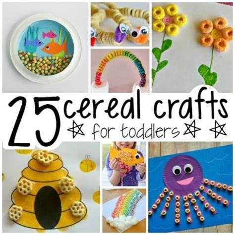 crafts for babies 25 cereal crafts for toddlers