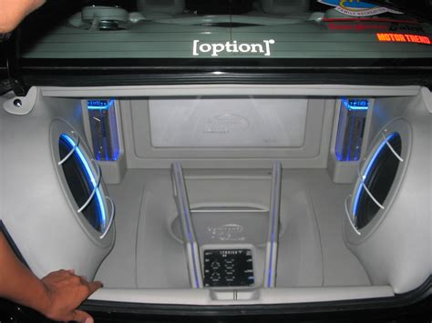Audio Interiors by Modifikasi Motor Mobil Car Interior With Audio Sound