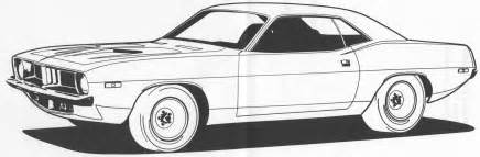 car coloring pages pin cuda colouring pages on