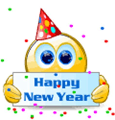 happy new year smileys animated happy new year emoticons gallery