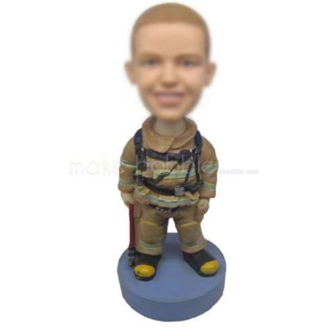 bobblehead meaning personalized bobblehead firefighter wearing protection