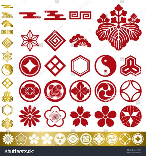 traditional design elements vector image gallery japanese elements