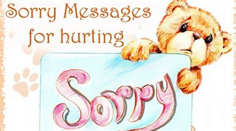 am i small je sorry messages for hurting sorry hurting wishes