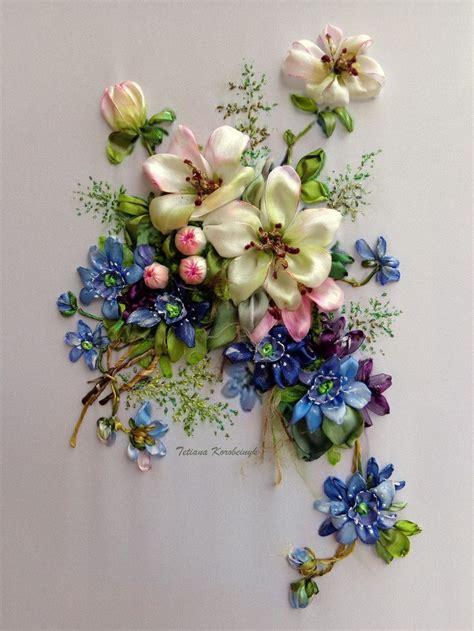 fiori di nastro 17 migliori idee su fiori di nastro su fiocchi
