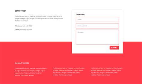 form design pinterest 5 unique ways to style divi s contact form module