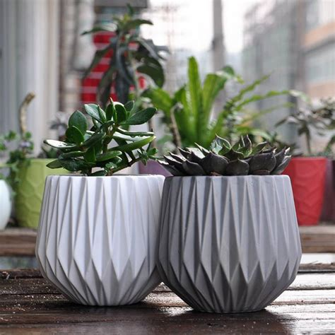 Modern Decoration Ceramic Indoor Plant Pot Flower Pot Home Indoor Planter Pots