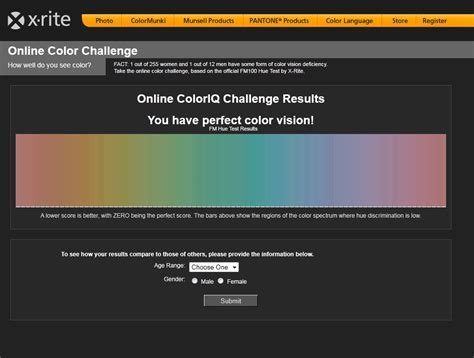 color acuity test xritecolorvisiontestresults radiantphotography