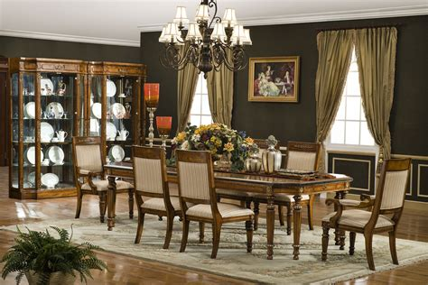 tuscany dining room furniture the tuscany hills dining room collection 11379