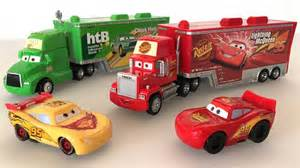 lighting mcqueen toys disney pixar mack truck and disney cars lightning mcqueen