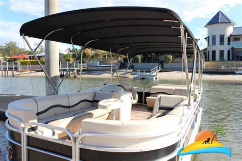 party boat hire gold coast bbq party pontoon in surfers paradise gold coast