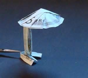 origami stuhl falten origami geldscheine und b 252 cher gefaltet und entworfen