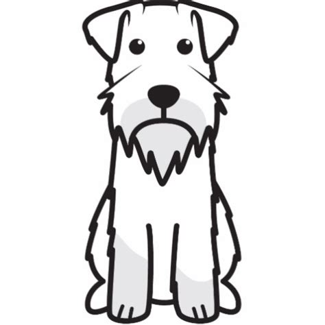 free coloring pages of schnauzer puppy