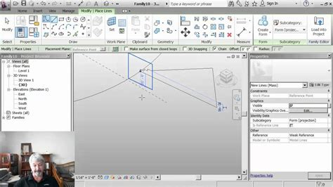 revit tutorial tu graz 02 sweep doovi