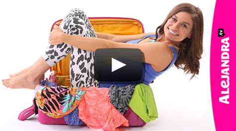 alejandra organizer video how to pack a carry on suitcase
