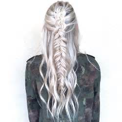 looking for black hair braid styles for grey hair noir blondes ruban tresses fille image 3081800 par