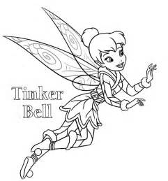 Fairies Tinkerbell Coloring Page  Download &amp Print Online sketch template