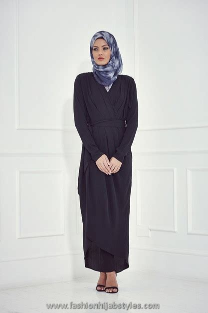 Dress Inayah 001 inayah collection 2014 and abaya styles lookbook wrap abaya inayah 2014 new modern