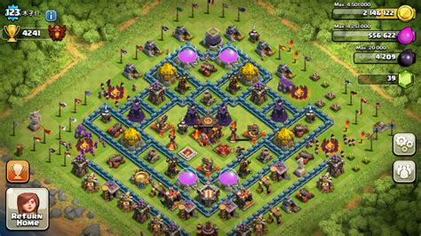 update layout coc best th5 farming base