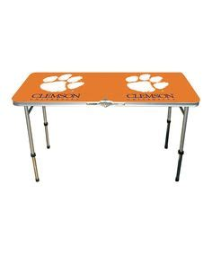 clemson tigers tailgate table clemson tigers and tailgate table on