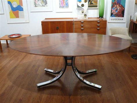 Davis Conference Tables Oval Dining Conference Table By Osvaldo Borsani For Stow Davis At 1stdibs