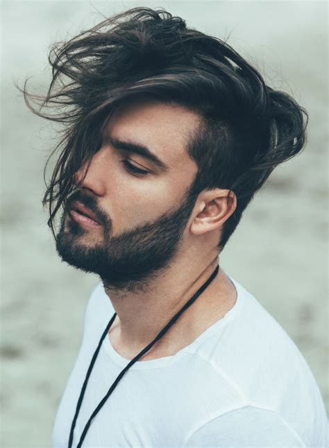 photos to copy for ideas haircuts for long thin hair to make it look thicker best 25 mens hair medium ideas that you will like on