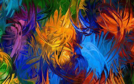 wallpaper lukisan cantik koleksi gambar lukisan abstrak
