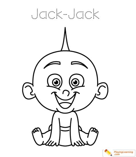 jacks of color the incredibles coloring page 05 free the