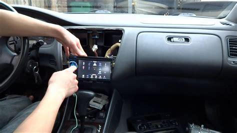 install car stereo pioneer avh    honda