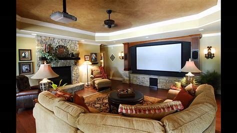 home theater family room design