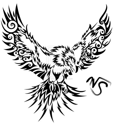 phoenix tattoo lettering tribal tattoo stencils tribal storm phoenix by