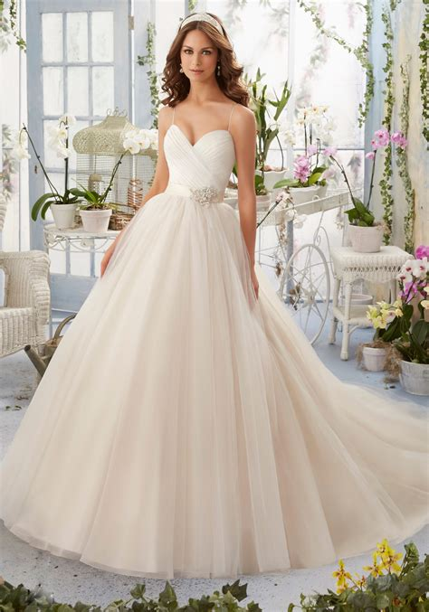 Wedding Hair Dress With Straps by Asymmetrically Draped Bodice With Shoestring Straps Onto