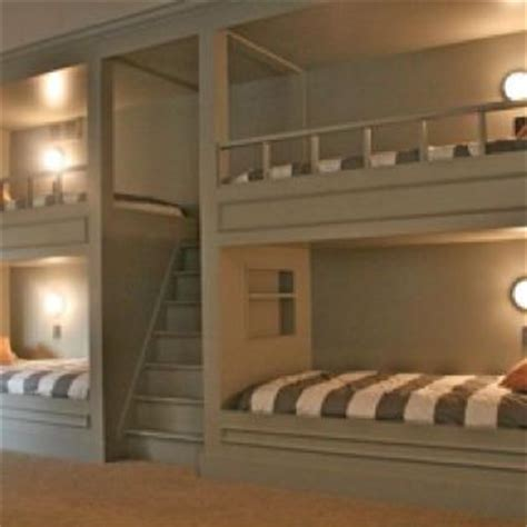 Bunk Beds With Built In Stairs Built In Bunk Beds Stairs Up Middle Creek Homestead Pinterest Built In