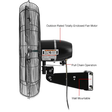 global oscillating wall mount fan 24 diameter 0 question 0 answer