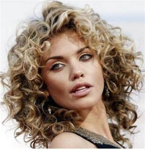 perms for round faces 42 best images about perm on pinterest curly bob