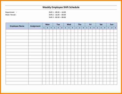 excel monthly employee schedule template employee monthly calendar template calendar template 2016