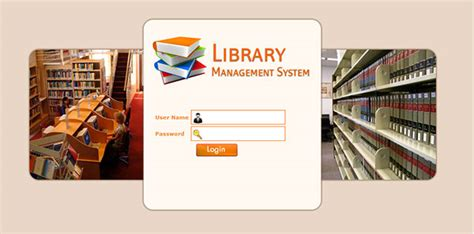 design of management system library management system on behance