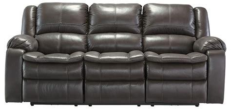 long reclining sofa long knight gray reclining sofa from ashley 8890688