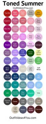summer colors best 25 summer color palettes ideas on