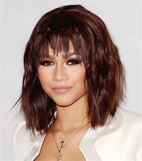 can women with small forheads wear bangs found the best bangs for every face shape byrdie