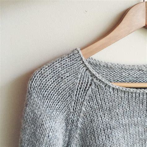 how to knit a sweater in how to knit a simple neckline the craft sessions