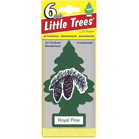pine tree air freshener decoration tree air freshener 6pk royal pine walmart