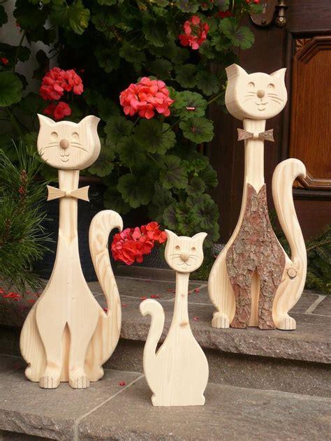 Katze Aus Holz by Deko Katzen Holz Katzen Schreinerei Vogler Soso
