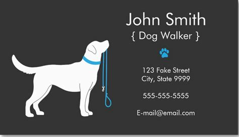 Dog Walking Business Cards Dog Walking Business Card Template Inkd Printable Kvantita Info Free Walking Business Card Template
