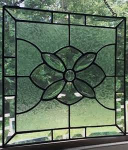 stained glass home decor original stained glass panel sun catcher home decor
